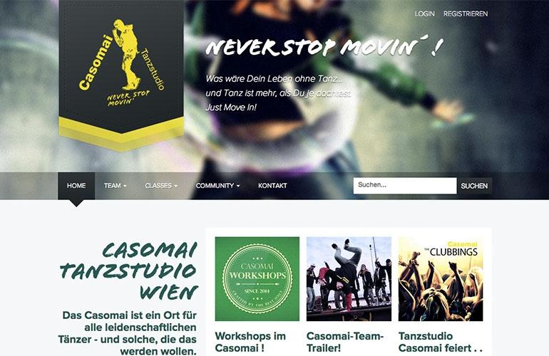 Referenz - Tanzstudio Casomai